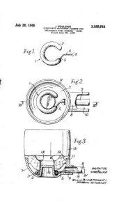 Falcon Dry Ring Patent Art